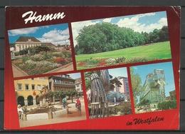 Deutschland HAMM 1992 Gesendet Mit Briefmarke - Hamm