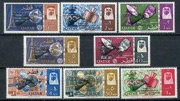 1966 - QATAR- ESPACE - 8 VAL.. M.N.H. LUXE !!- - Qatar