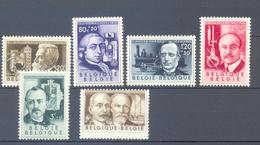 973/978 UITVINDERS  POSTFRIS** 1955 - Belgique