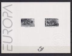 2693/2694 EUROPA  ZWART WIT VELLETJE 1997 - Foglietti Bianchi & Neri