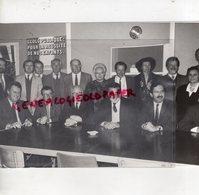 87- LIMOGES- SOCIALISME-SOCIALISTES-  SOCIALISTE HAUTE VIENNE- LONGEQUEUE-SAVY- RODET- PHOTO ORIGINALE 1986 - Persone Identificate