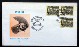 Sweden 1970     Minr.689  FDC  (lot  438) - FDC