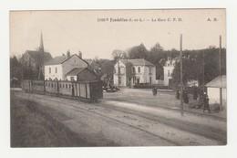 Fondettes.37.Indre Et Loire.La Gare C.F.D. - Fondettes