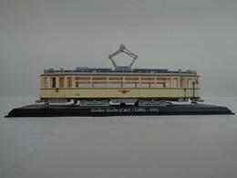 TRAMWAY  GROSSER HECHT 1703-1724 ( C&U/LHB ) DRESDE 1931 -1/43 Avec Notice - Voitures, Camions, Bus