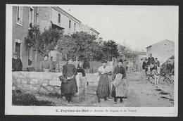 PEYRIAC DE MER - Avenue De Sigean Et De Portel - Otros Municipios