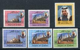 1992 - QATAR-  DEFINITIVES  - 6 VAL.- M.N.H. LUXE !!- - Qatar