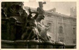 Trento - Dettaglio Della Fontana Di Nettuno * 1913 - Trento