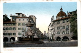 Trento - Piazza Del Duomo Colla Fontana Di Nettuno (5226) - Trento