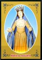 SANTINO - Maria SS. Assunta - Santino Con Preghiera, Come Da Scansione. - Devotieprenten