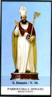 SANTINO - S. Donato - V. M. - Santino Con Preghiera, Come Da Scansione. - Santini