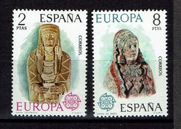 SERIE 2 TIMBRES ESPAGNE 1974 MNH - EUROPE CEPT - Europa-CEPT