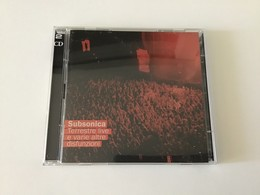 Rox Subsonica Terrestre Live E Varie Altre Disfunzioni - Disco & Pop