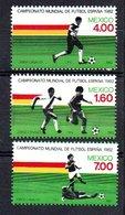 1982 Football World Championships MNH (16) - Mexiko