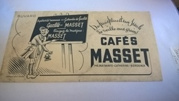 BUVARD Exigez La Marque CAFES MASSET - Coffee & Tea