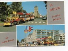 Saint Brévin : Les Pins... L'océan... Par Le Petit Train (multivues) - Saint-Brevin-les-Pins