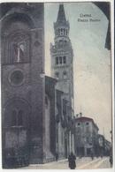 Crema, Piazza Duomo Old Postcard Travelled? B180920 - Altre Città