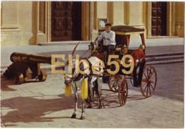 Malte, Calèche Traditionnelle, Timbre De Tunisie, Retour à L'envoyeur, 1973 - Malta