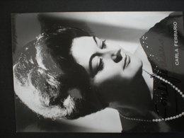 CARLA FERRARIO Opera - Photographs