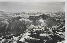 AK 0043  Rossfeld Und Hoher Göll Gegen Hochkönig - Fliegeraufnahme Um 1930-40 - Golling