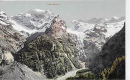 AK 0043  Trafoi - Blick Vom Weisssen Knott Auf Heilige Drei Bunnen Um 1920 - Bolzano (Bozen)