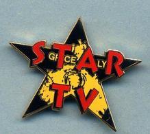 Pin's  Star Tv - Médias