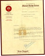 82  MONTAUBAN  BRASSERIE MICHEL HEIM FRERES   -  LETTRE COMMERCIALE POUR PENNE 1942 - Alimentaire