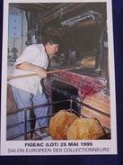 Mr P.... Maître Artisan Boulanger à Figeac -1995- - Figeac
