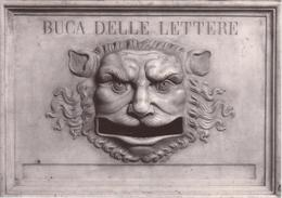 POSTE ITALIANE Artistico Mascherone In Marmo Del 1700 - Poste & Postini