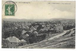 19-TREIGNAC-Vue Générale...1908 - Treignac