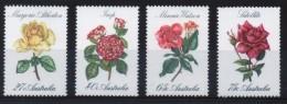 Australia Set Of Stamps Each Showing Roses - 1980-89 Elizabeth II