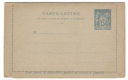 8041 - Carte Lettre Avec Reponse Payée - Ganzsachen