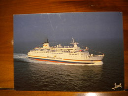 CARTE POSTALE Bateau BRITTANY FERRIES M/V DUC DE NORMANDIE - Ferries