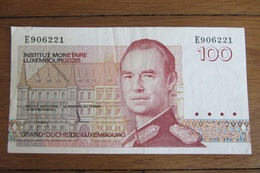 100 Francs Luxembourg - Luxembourg