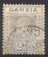 GAMBIE ( POSTE ) : Y&T  N°  31   TIMBRE  BIEN  OBLITERE . - Gambie (...-1964)