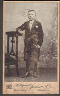Photographie - Originales - Portrait Garçon - Photographie De L'époque - Samsons - Personnes Anonymes