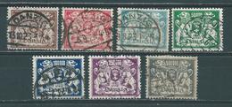MiNr. 151-157   (0168) - Danzig