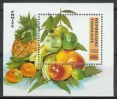 Mua683 FLORA VRUCHTEN BANAAN MANGO ANANAS PINEAPPLE FRUIT FRÜCHTE  FRUITS TOGO 1996 PF/MNH - Fruits