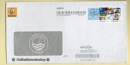 BRD - Umschlag -  Südmail - Standartbrief / Arriva - Stempel / DP AFS Frankit - BRD