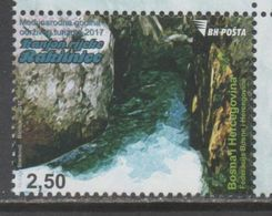 BOSNIA,  2017,MNH, RAKITNICA RIVER CANYON, 1v - Geology