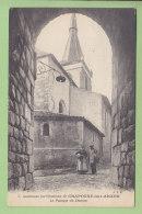 CRAPONNE SUR ARZON : Le Passage Du Donjon. 2 Scans. Edition JBE - Craponne Sur Arzon