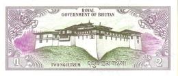 BHUTAN  P. 6 2 N 1981 UNC - Bhoutan