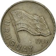 Monnaie, Uruguay, 5 Nuevos Pesos, 1980, Santiago, TTB, Copper-Nickel-Zinc, KM:75 - Uruguay