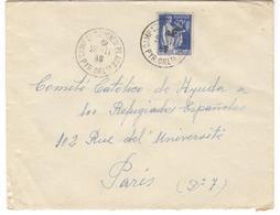 8053 - CAMP DE ST CYPRIEN - Marcophilie (Lettres)