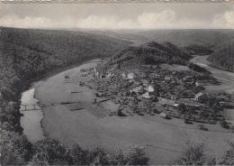 Belgique - Frahan Sur Semois Rochehaut - Panorama - Publicité Auberge Du Châlet Ardennais - Bouillon