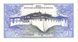 BHUTAN P. 12a 1 N 1986 UNC (2 Billets) - Bhoutan