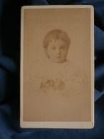 Photo CDV JP Fauré à Foix - Portrait D'un Petit Garçon, Circa 1890 L394 - Foto