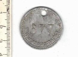 224 -  MEDAILLE - WERKZEUGMARKE 677 - Allemagne