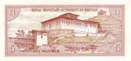 BHUTAN P. 14a 5 N 1985 UNC - Bhoutan