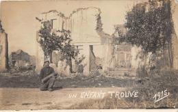 CARTE PHOTO MILITAIRE  14 18  WW1    OBUS  1915 - Guerre 1914-18