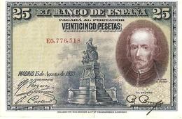 Spain  P-74  25 Pesetas  1928 - [ 1] …-1931 : Premiers Billets (Banco De España)
